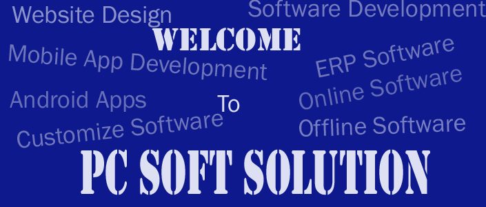 Welcome to PC Soft Solution